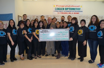 Presenting the World Sight Day 2014 funds